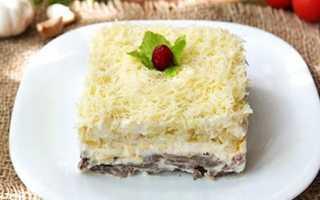 Салат Мужские грезы: простые пошаговые рецепты с фото, с грибами, с картофелем, с ананасом
