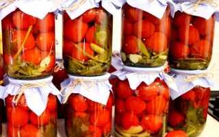 Солим помидоры на зиму: простые рецепты в литровых банках, с уксусом