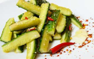 Битые огурцы по-китайски: рецепты салатов с фото, калорийность