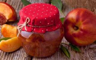 Янтарное варенье из персиков дольками: простые рецепты на зиму