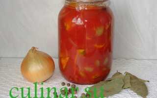 Патиссоны в томатной заливке на зиму