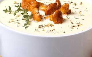 Суп-пюре из лисичек: рецепты с фото со сливками, картошкой, тыквой