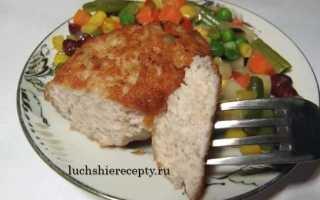 Котлеты с шампиньонами: с курицей, свининой, сыром, индейкой и на пару, рецепты с фото